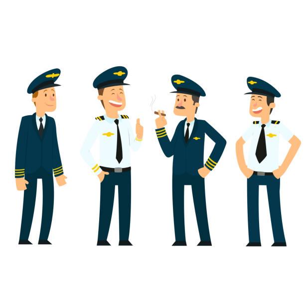 Best Pilot Hat Illustrations, Royalty-Free Vector Graphics ...