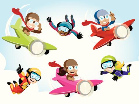 Pilot/Skydiver Kids