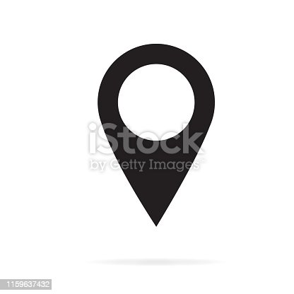 istock Pin map icon 1159637432