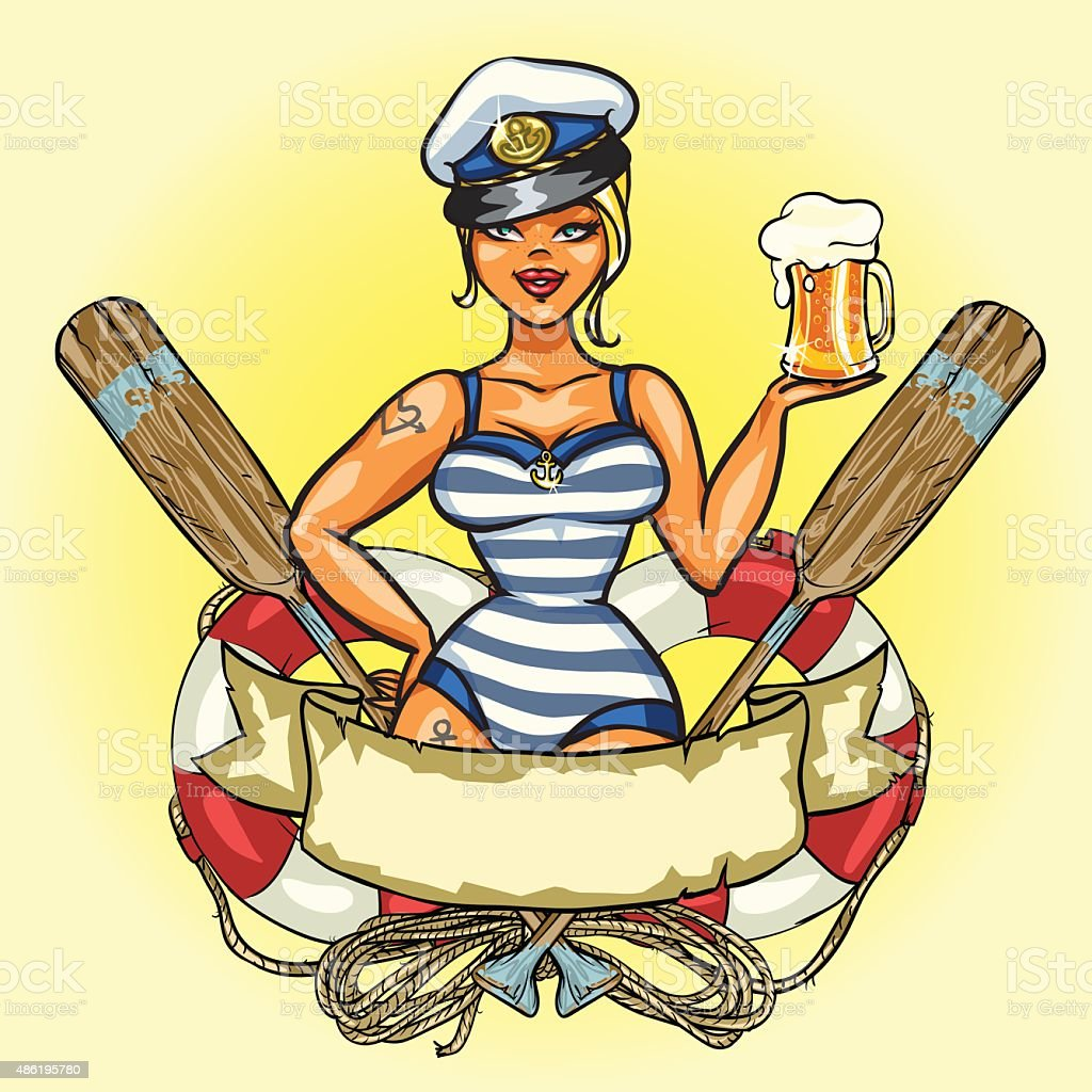pin up biere