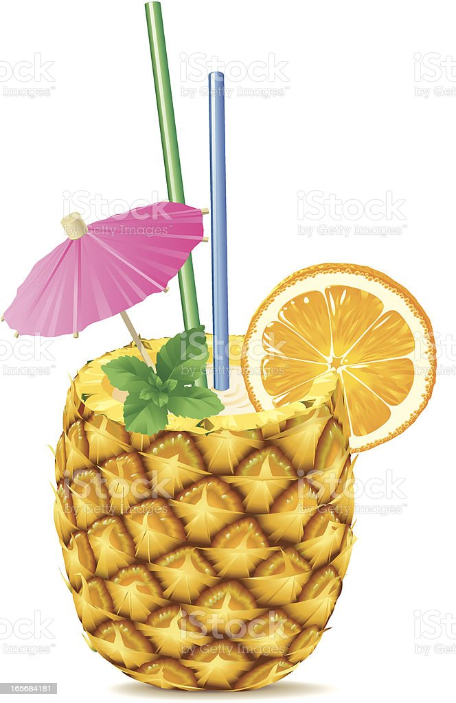 how to make pineapple drink