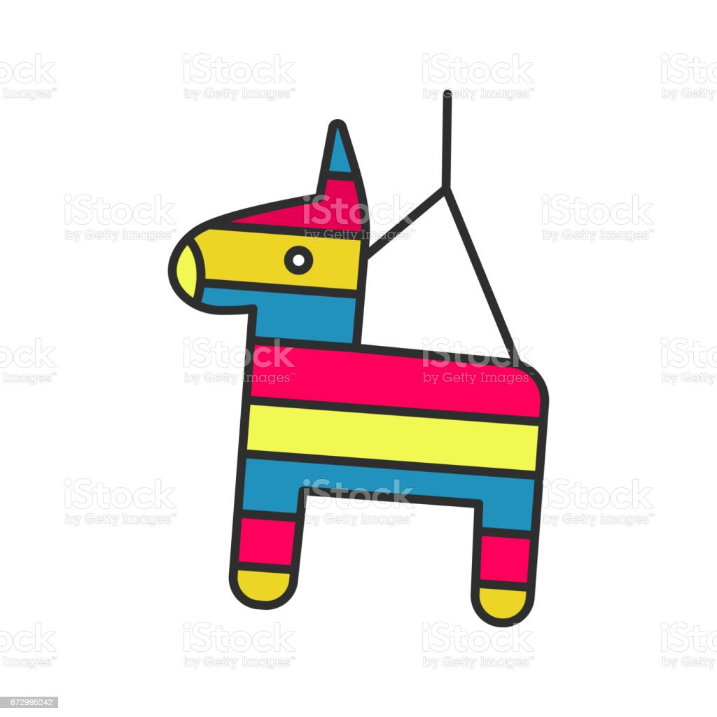 Pinata Icon Stock Illustration - Download Image Now - iStock