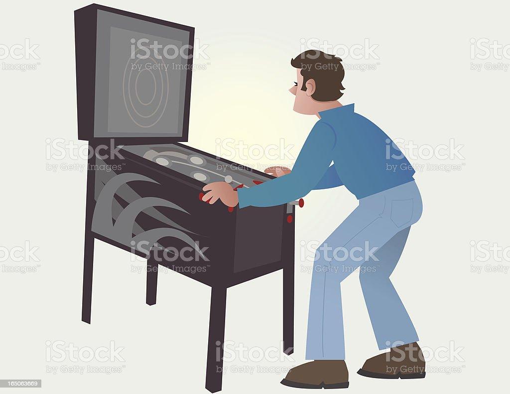Pinball Machine royalty-free stock vector art