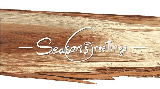 Pine Wood Holiday Cheer