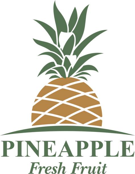 Best Clip Art Of A Pineapple Graphic Illustrations ...