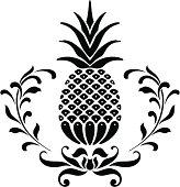 istock Pineapple Icon 95838043