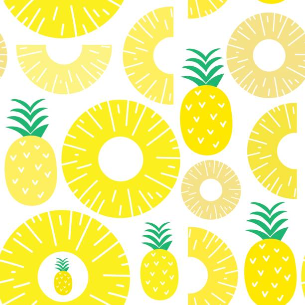 Best Canned Pineapple Illustrations, Royalty-Free Vector ...