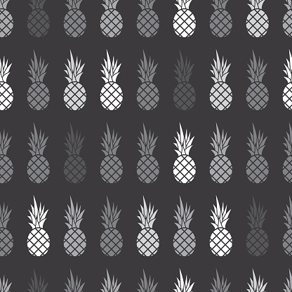 Pineapple Seamless Patterned Background