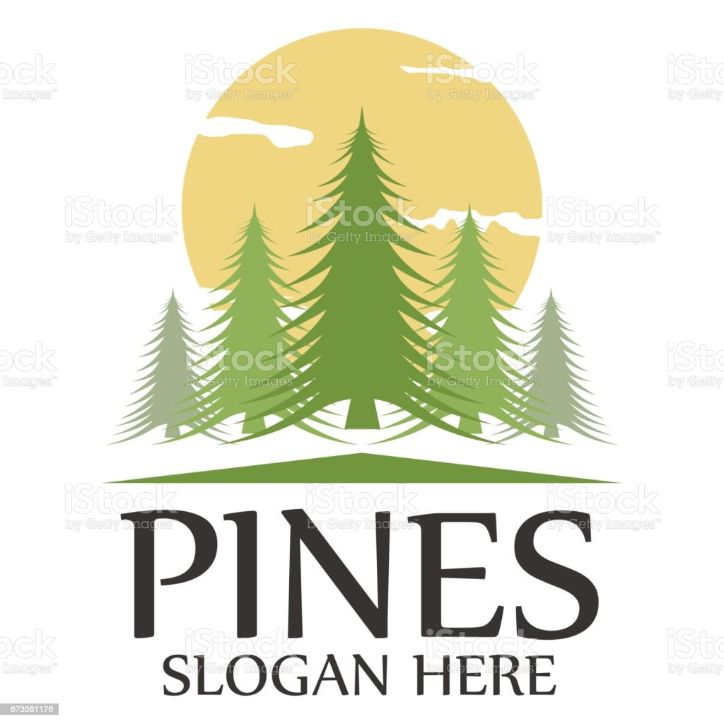 Pines template icon