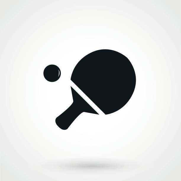 Ping pong Icon in trendy flat style isolated on grey background. Sport symbol for your web design, icon, UI. Vector illustration, Ping pong Icon in trendy flat style isolated on grey background. Sport symbol for your web design, icon, UI. Vector illustration, ping pong table stock illustrations