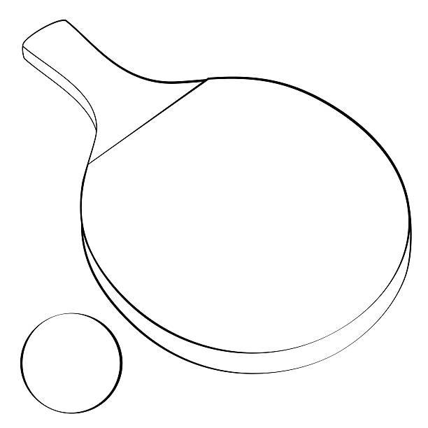 tischtennis ping - - stiftehalter stock-grafiken, -clipart, -cartoons und -symbole