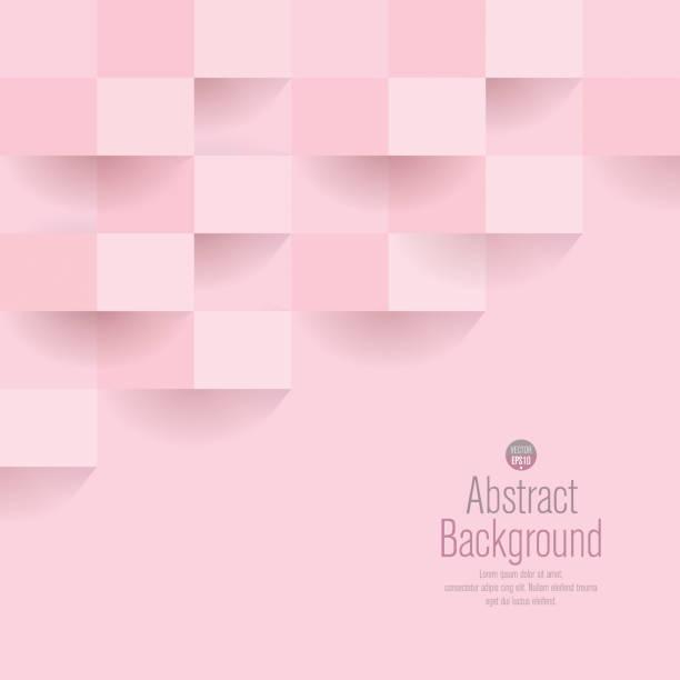 bildbanksillustrationer, clip art samt tecknat material och ikoner med rosa abstrakt bakgrund vektor. - rosa bakgrund