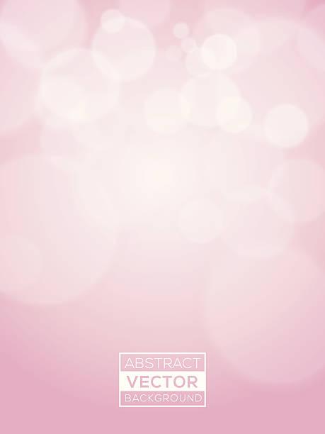 bildbanksillustrationer, clip art samt tecknat material och ikoner med pink abstract vector bokeh background soft focus - rosa bakgrund