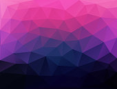 pink and black triangular abstract background