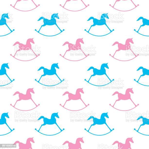 Pink and blue rocking horses seamless pattern vector id891695518?b=1&k=6&m=891695518&s=612x612&h=id wqhm7mc6la6 hjslis3ozcmja4h1imphuueh3wus=
