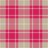 Pink, white and gray Scottish tartan plaid seamless textile pattern background.
