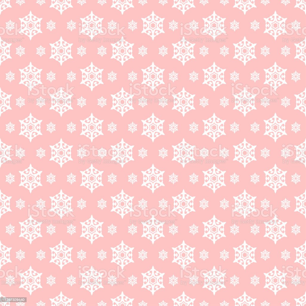 Pink Background Pattern Modern Texture Wallpaper Seamless Pattern For Fabric Tiles Interior Design Or Wallpaper Background Vector Image Stock Illustration Download Image Now Istock