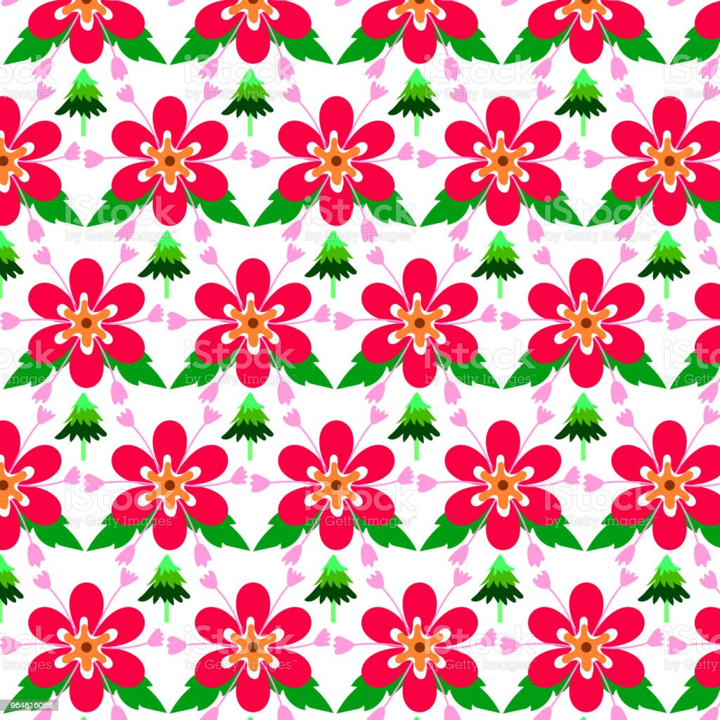 Pink background Seamless pattern Abstract flowers royalty-free pink background seamless pattern abstract flowers stock illustration - download image now