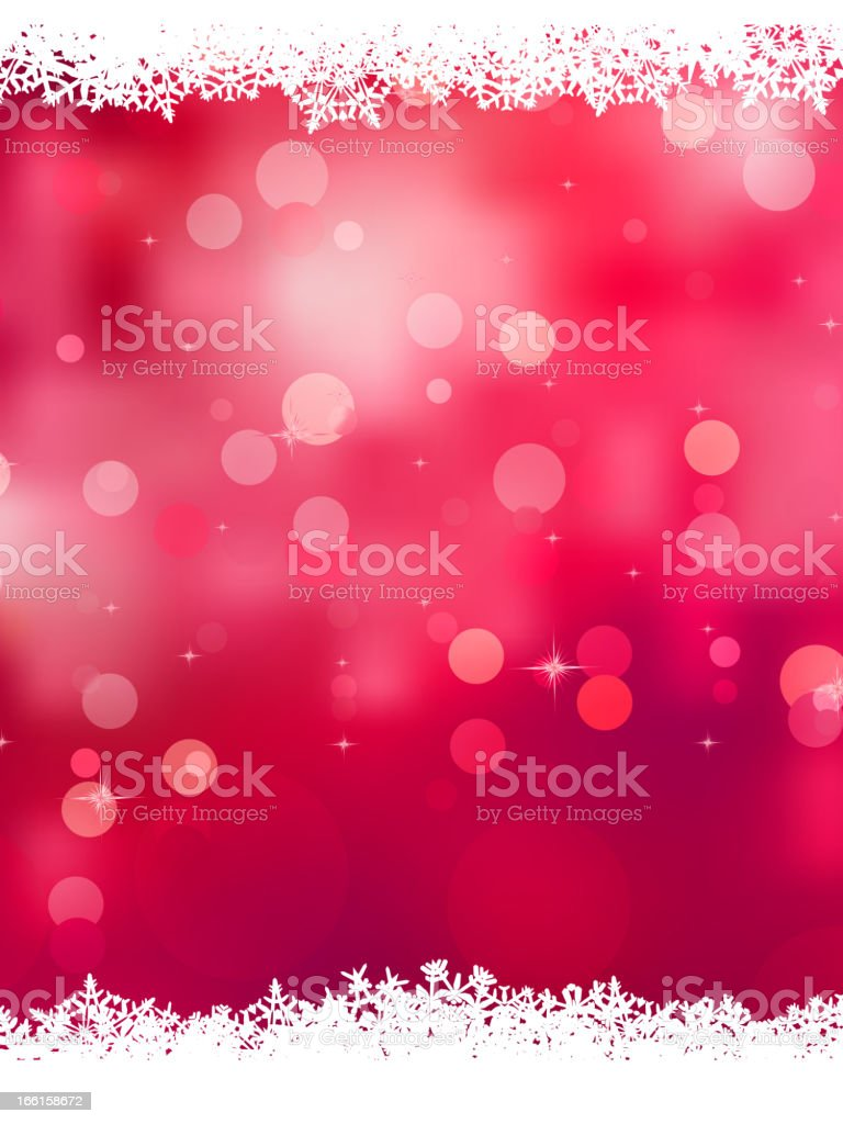 Pink background with snowflakes. EPS 8 royalty-free stock vector art