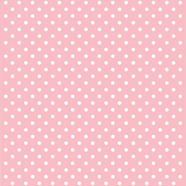 Pink Polka Dot Wallpaper: Royalty Free Pink Color Clip Art, Vector Images