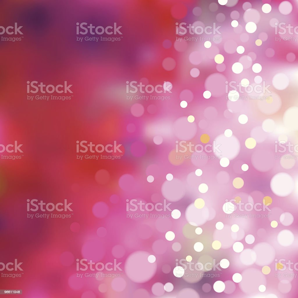 Pink blurry lights. EPS8 - Royalty-free Achtergrond - Thema vectorkunst