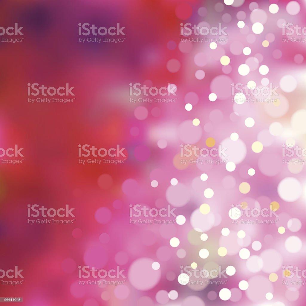 Pink blurry lights. EPS8 - Royaltyfri Bakgrundsfokus vektorgrafik