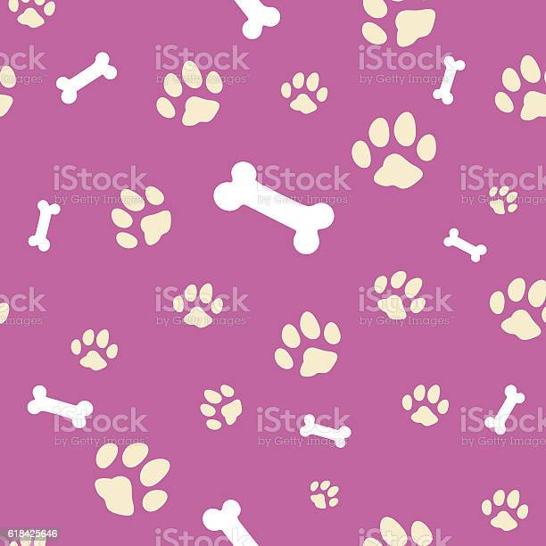 Pink bone and paw texture vector id618425646?b=1&k=6&m=618425646&s=612x612&h=qygd80vb7bfub9l2xdm7usj5ob15tp55tm9owhdzh58=