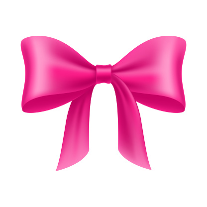 Pink Bow Cartoon Isolated Stock Illustration Download Image Now Istock Pink bow steak & crepes in red deer. pink bow cartoon isolated stock illustration download image now istock