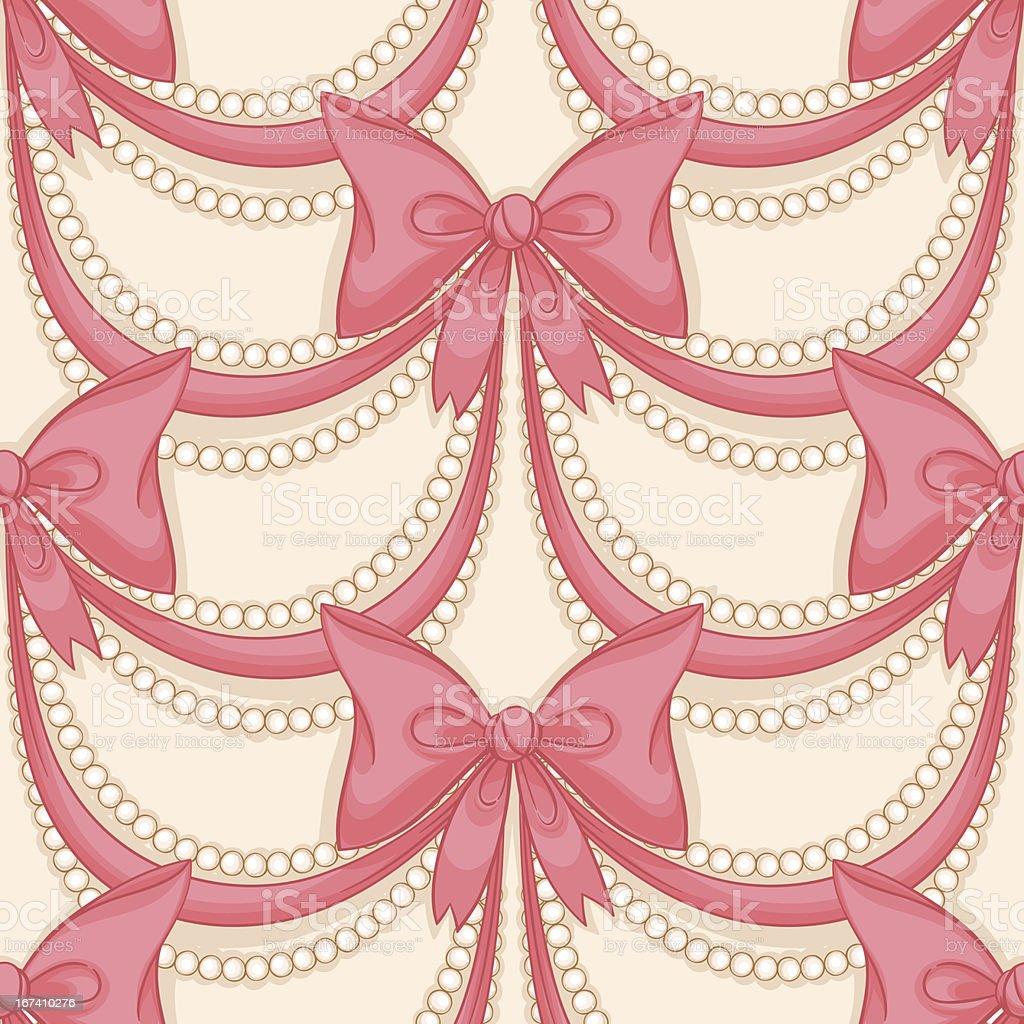 pink bows royalty-free stock vector art