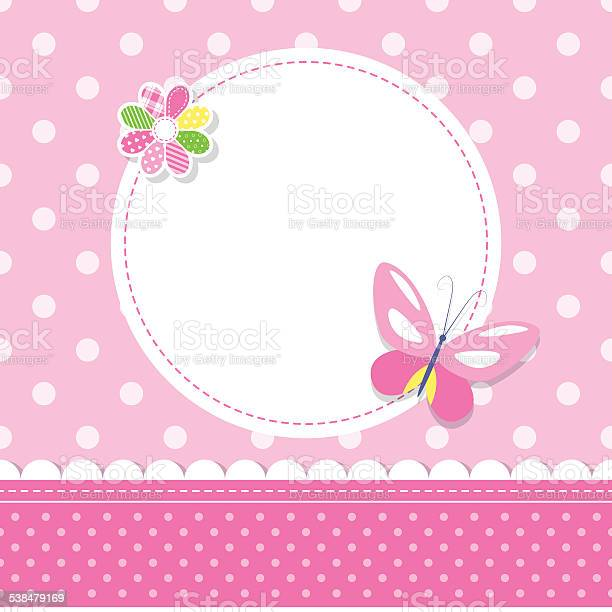 Pink butterfly baby girl greeting card vector id538479169?b=1&k=6&m=538479169&s=612x612&h= icb eliv  abdqbdt2eup0wuagthues dopa0bdfuu=
