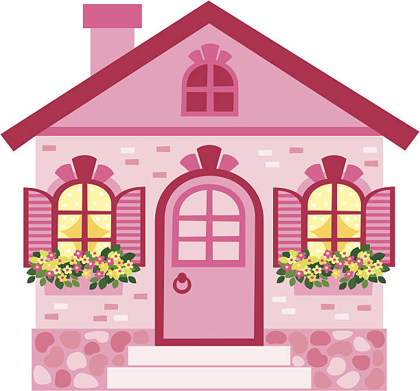 Best Dollhouse Illustrations, Royalty-Free Vector Graphics ...