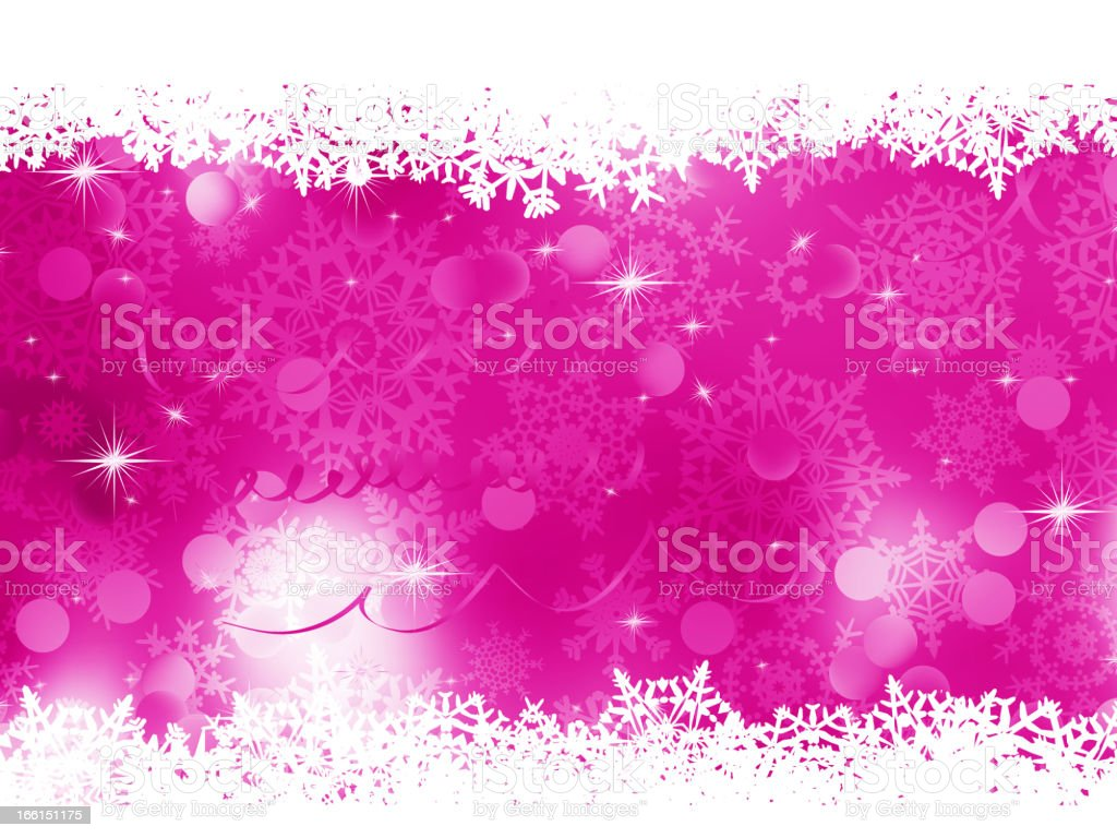 Pink Christmas background. EPS 8 royalty-free stock vector art