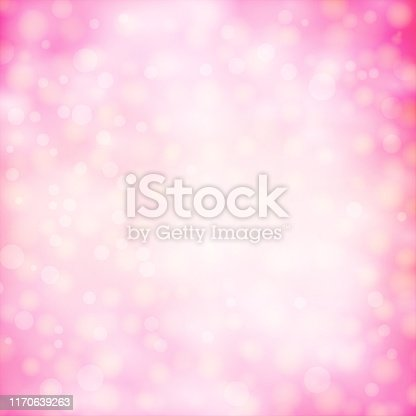 Pink colour shining star square background stock illustration. Looks like twinkling lights light shiny background. Vignette, vignetting, copy space. No people. No text. Apt for party, Xmas, Christmas, New Year's eve celebration backdrop, wallpaper, Valentine's Day romantic gift wrapping paper.
