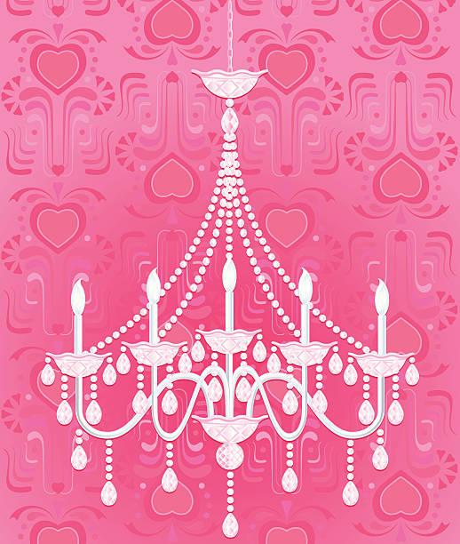 Girly Chandelier Backgrounds Clip Art Vector Images Illustrations