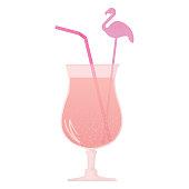 pink flamingo cocktail