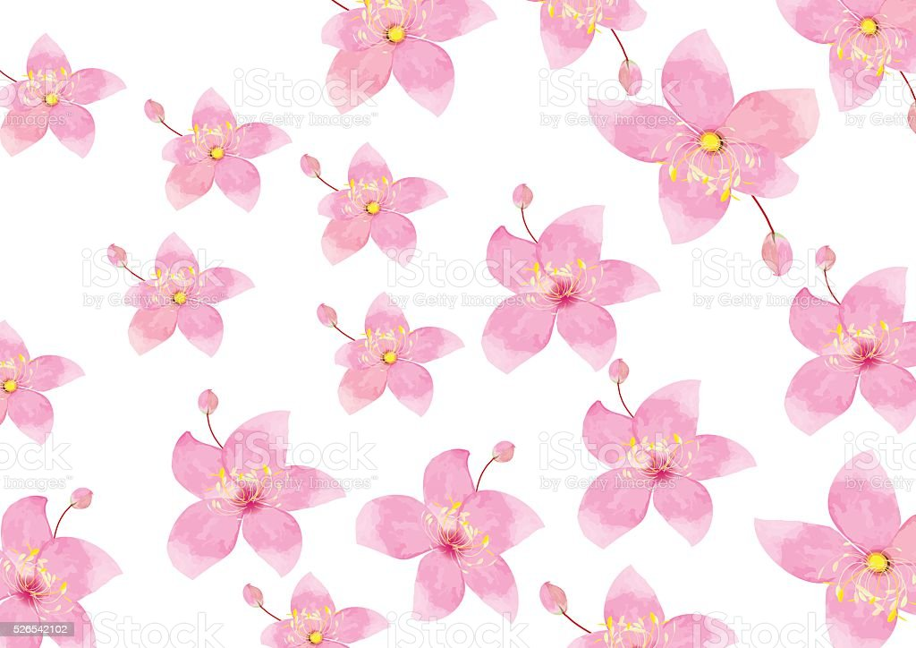 Pink flowers isolated on white background stock vector art more pink flowers isolated on white background royalty free pink flowers isolated on white background stock mightylinksfo