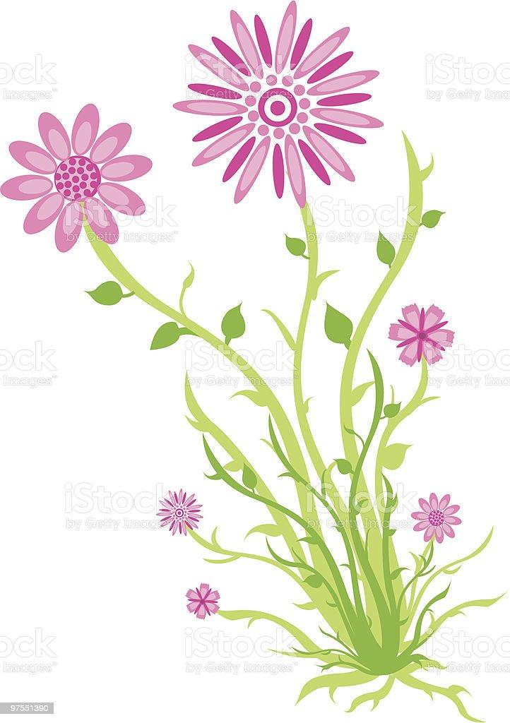 Fleurs roses fleurs roses – cliparts vectoriels et plus d'images de arbre en fleurs libre de droits