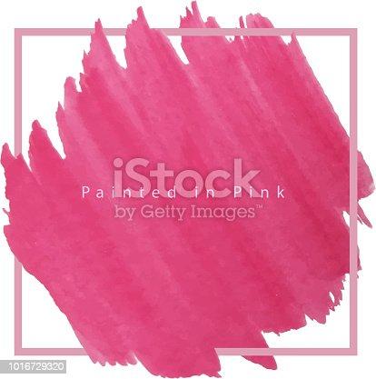 breast cancer awareness painted frame design