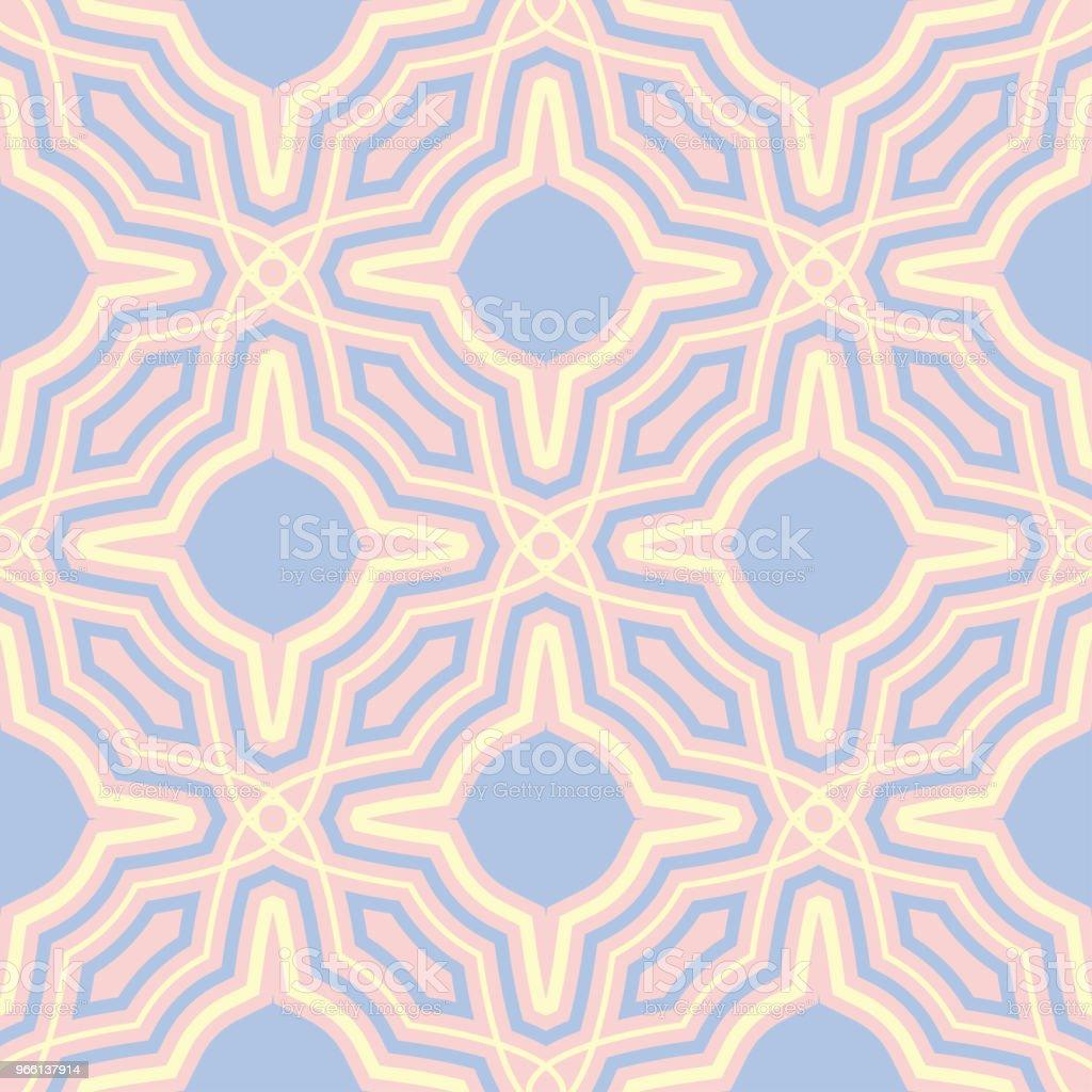 Rosa geometrische nahtlose Hintergrund. Multi farbige Muster - Lizenzfrei Abstrakt Vektorgrafik