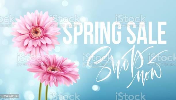 Pink gerbera daisies on a blue bokeh background spring sale lettering vector id924628130?b=1&k=6&m=924628130&s=612x612&h=juvl4 yfeiibrbyagbwm627xkiujuueid3h0usqnbzm=