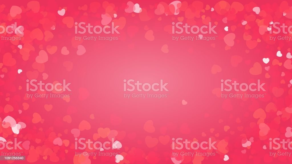 Pink glitter background for Valentines day greeting card