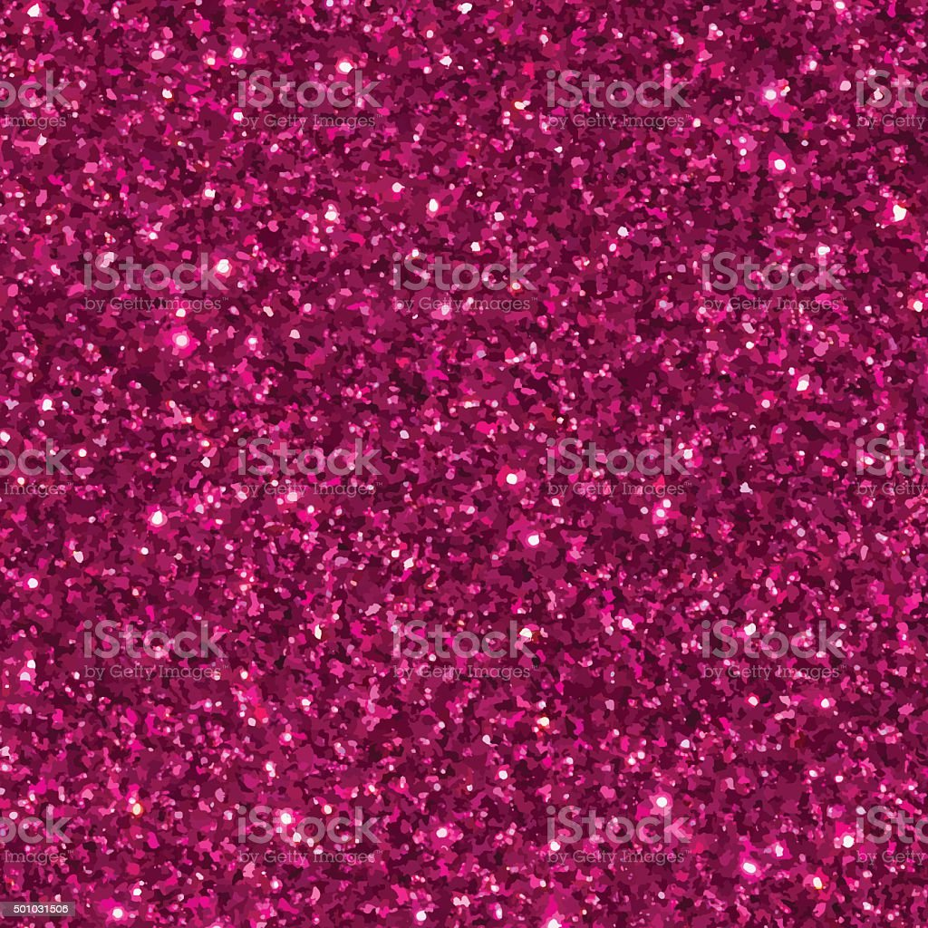 Pink glitter seamless pattern/ texture. vector art illustration