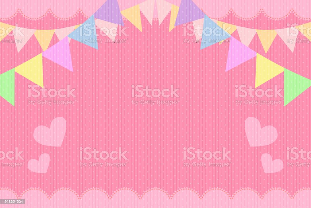 Pink greeting card background template stock vector art 913654504 pink greeting card background template royalty free stock vector art m4hsunfo