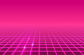 istock Pink Grid Retro Abstract Background 1303538372