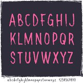 Latin alphabet including upper and lower case, plus 10 numerals.