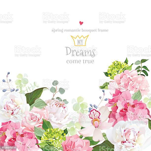 Pink hydrangea rose peony orchid carnation vector design card vector id618651816?b=1&k=6&m=618651816&s=612x612&h=jhs8cxracyfv2kboe8utzo8lkodg mhvirguubopn4c=