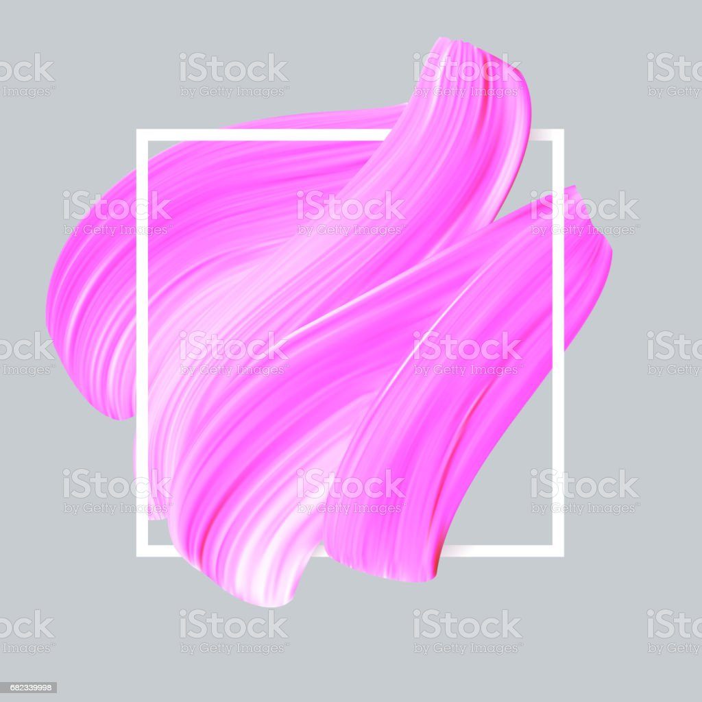 Pink lipstick vector smear in white frame royalty-free pink lipstick vector smear in white frame stock vector art & more images of abstract