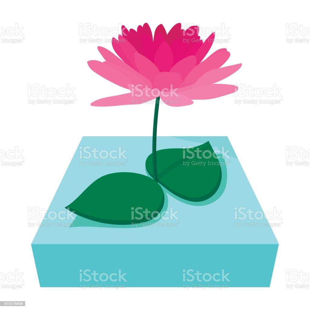 Pink lotus flower icon cartoon style stock vector art more images pink lotus flower icon cartoon style royalty free pink lotus flower icon cartoon style izmirmasajfo