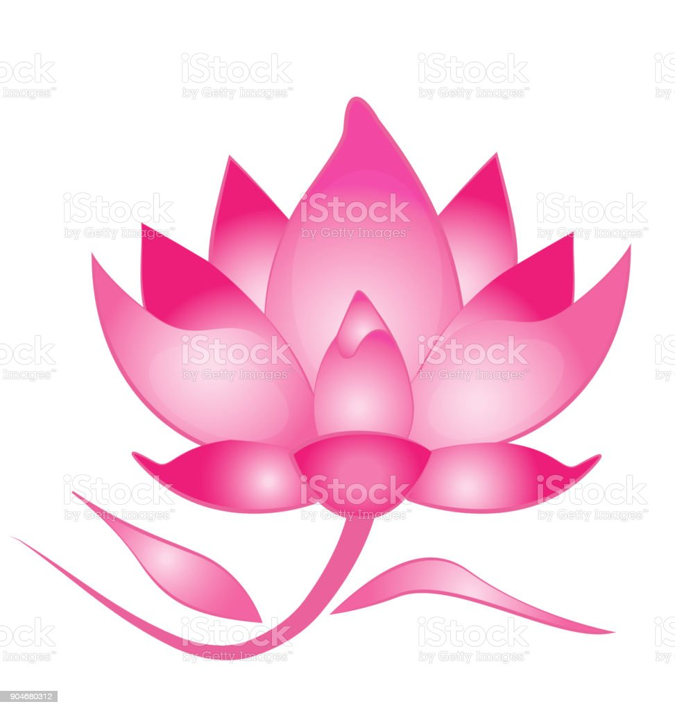 Pink lotus flower spa background icon stock vector art more images pink lotus flower spa background icon royalty free pink lotus flower spa background icon stock izmirmasajfo
