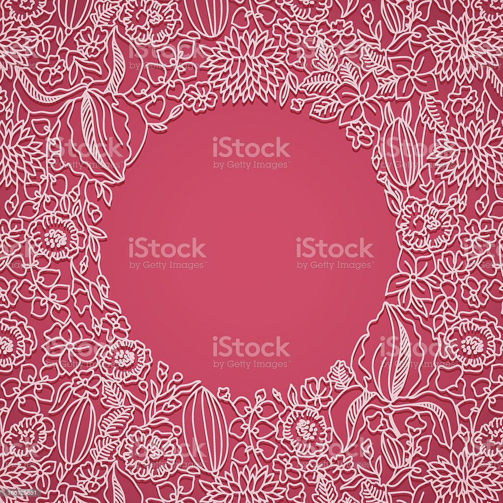 Pink ornamental card royalty-free pink ornamental card stock vector art & more images of abstract